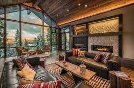 Rustic Modern Living Room by 55 Wonderful Rustic Contemporary Living Room Design And Decor