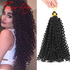 latch hook hair pictures crochet hair braiding water wave 14inch 30roots latch hook synthetic