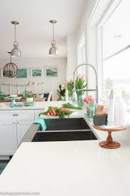 kitchen furniture store coastal cottage style kitchen tour the happy housie