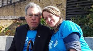 monty python star terry jones did the london memory walk daily