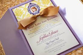 Unique Birthday Invitation Cards Paper Crew Sophia The First Inspired Birthday Invitations