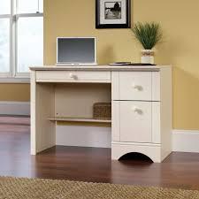 Chocolate Laminate Flooring Antique White Computer Desk Luxury Pen Creamy Wooden Flooring