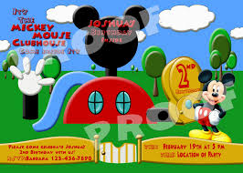 minnie mouse clubhouse invitations free printable invitation design