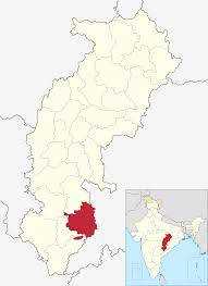 India Blank Map Pdf by Bastar District Wikipedia