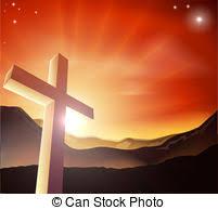 easter resurrection cross sun rays cross with sun rays and