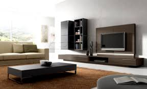 living tv unit design for living room with wallpaper tv unit