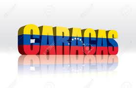 Venezuela Flag Colors 3d Vector Caracas Venezuela Word Text Flag Royalty Free Cliparts