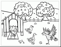 astounding printable coloring pages of chickens with chicken