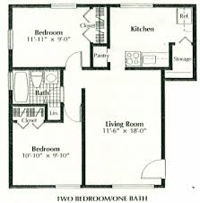 2 bedroom 1 bath floor plans 2 bedroom 2 bath house plans split 2 bedroom house plans 1000