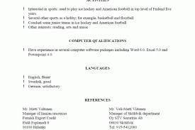 Resume Reference Page Sample by On Writing A Resume References Reentrycorps