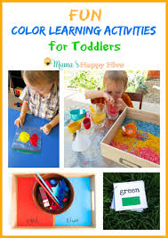 For Toddlers Color Learning Activities For Toddlers S Happy Hive
