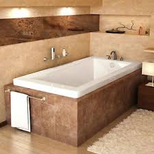 bronzino 42 x 72 rectangular soaking drop in bathtub soaker tub