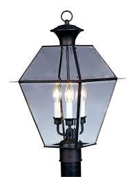 amazon com livex lighting 2384 04 westover 3 light outdoor