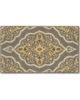 Threshold Kitchen Rug Amazing Deal On Medallion Accent Kitchen Rug 1 8 X2 10 20 X34