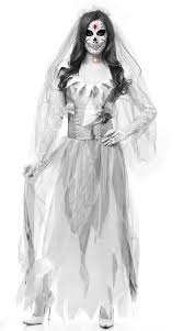Ghost Halloween Costume Ghost Bride Costume Scary Bride Costume Los Muertos Bride