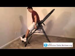 teeter inversion table reviews teeter ep 560 inversion table review mp4 youtube