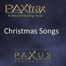 paxtrax professional backing tracks christmas songs by paxus