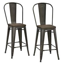 Industrial Metal Kitchen Chairs Kitchen Design Marvelous Rustic Bar Stools Metal Kitchen Chairs