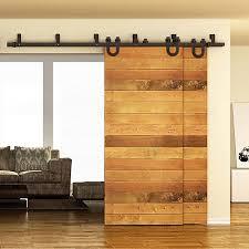 Sliding Wooden Doors Interior 5ft 8ft Horseshoe Sliding Door Fittings Barn Wood Door Hardware