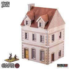 two storey building two storey building ewar 15mm colored