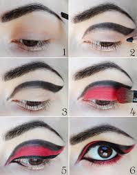halloween eye makeup dramatic cat eye tutorial with optional