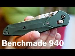 search result youtube video benchmade 940