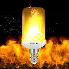led flame effect fire light bulbs brelong e14 led flame effect fire light bulbs 2835 x 99smd ac85