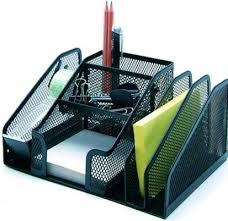 all in one desk organizer amazon com multi use mesh all in one desktop organizer with tape