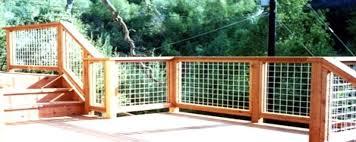 brilliant decoration wire deck railing stunning stainless steel