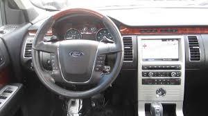 Ford Flex Interior Pictures 2011 Ford Flex White Platinum Stock C1306831 Interior Youtube