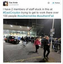 Tired Of The Commute Try by Southern Rail Strikes Cause Commuter Chaos Tonight As Packed