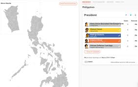 2016 Election Map Phvote 2016 Where To Get Real Time Elections Results