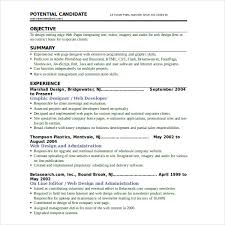 Resume Sample For Programmer by Graphic Web Designer Resume Example Web Designer Cv Template