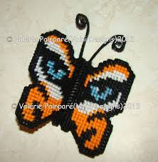 74 best p c butterfly s images on plastic canvas