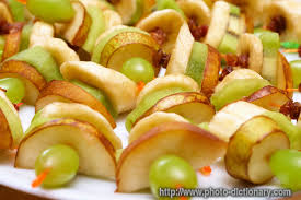 canapes fruit fruit canapes photo picture definition at photo dictionary