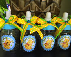 winnie the pooh baby shower decorations ideas winnie the pooh baby shower favors pretty etsy