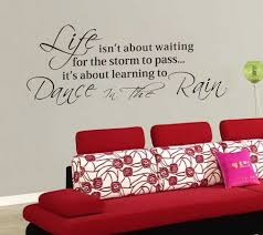 Quotes Wall Decor Image Gallery Life Quotes Wall Decals