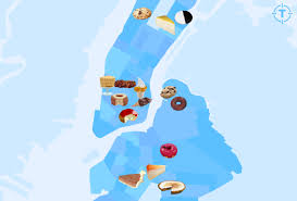 New York City Marathon Map by New York City U0027s Most Iconic Desserts Mapped Thrillist