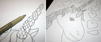 how to draw a zentangle in four easy steps
