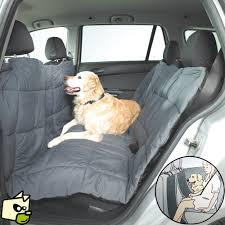 protection siege auto chien housse couette pour protéger la banquette de voiture