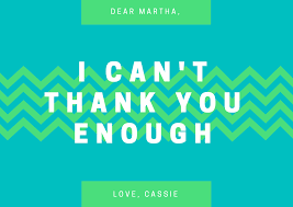 design a custom thank you card