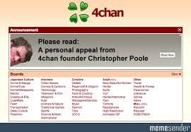 Christopher Poole Meme - 4chan a personal appeal from 4chan founder christopher poole