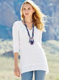 womens tunic sweaters kamala pima cotton tunic s apparel sale s clothing sale