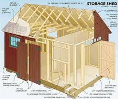 Diy Wood Shed Design by 201 Best Diy Shed Plans Images On Pinterest Diy Shed Plans