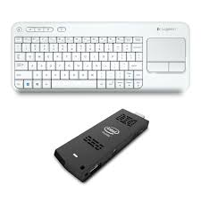 intel compute stick boxstck1a32wfc logitech k400 blanc pc de
