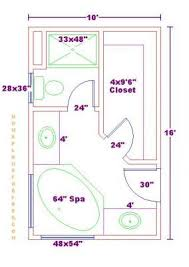 Master Bath Plans Bathroom And Closet Floor Plans Plans Free 10x16 Master