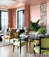 House Beautiful Dining Rooms by The Power Of Glamour Benjamin Moore Peach Rooms And House Beautiful