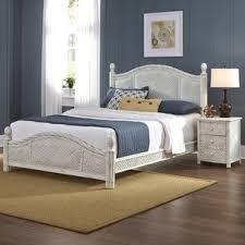 chambre osier ensembles de lit matériau osier rotin wayfair ca