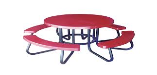 round plastic picnic table picnic tables
