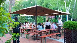 beer gardens nyc the best options for brews and food am new york